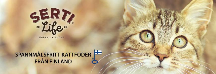 SertiLife spannmålsfritt kattfoder